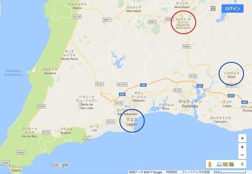 ポルトガル・アルガルヴェ地方の旅:カルダス・デ・モンシーク