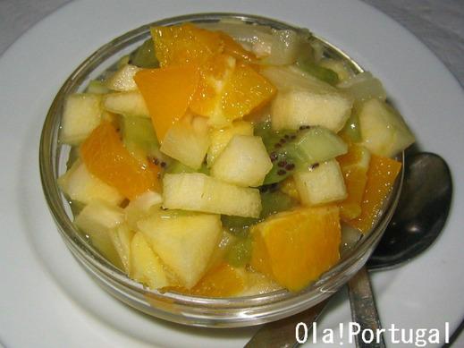 ポルトガル料理:Salada de Frutas サラダ・デ・フルータス