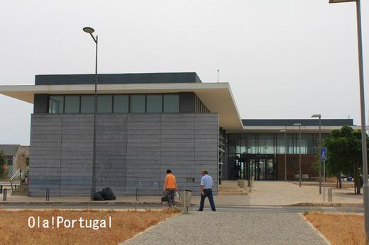 ポルトガル・アルガルヴェ地方のラゴスの新駅舎