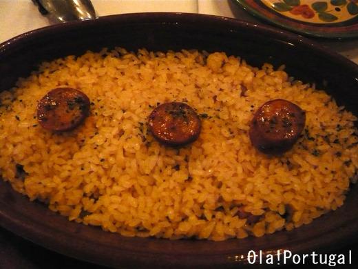 ポルトガル料理:鴨ごはんのオーブン焼き