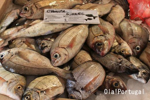 ポルトガルの魚市場