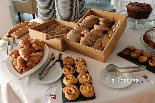 ポルトガル料理:ポザーダの朝食