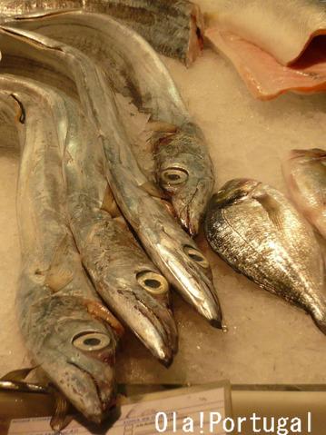 ポルトガルの魚:Peixe espada ペイシェ・エシュパーダ(太刀魚)