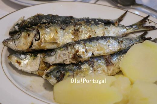 ポルトガル料理:Sardinhas Assadas