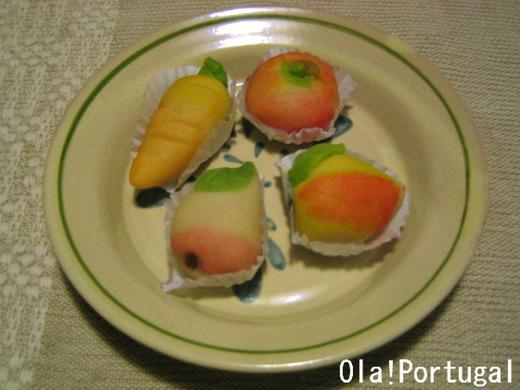 ポルトガルのお菓子:モルガディーニョス・デ・アーメンドア
