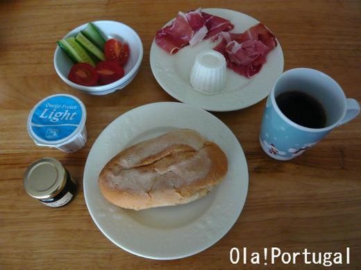 世界の朝ご飯:Portugal