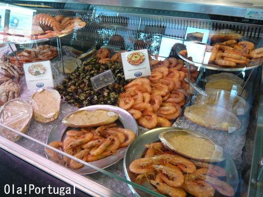 リスボンのレストラン:ポルトガリア(ビアホール)