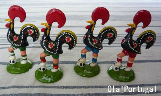 ポルトガル土産:サッカー・ガロ