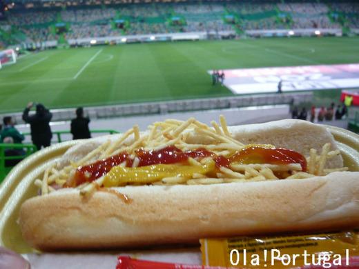 ポルトガル料理:ホットドッグ、Cachorro Quente