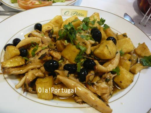 ポルトガル料理:Chocos Fritos ショコス・フリトス