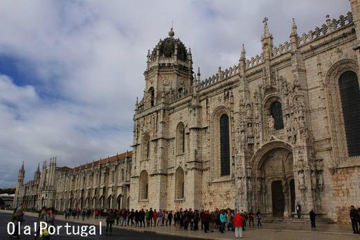 ポルトガル旅行記:リスボン・ベレンのジェロニモス修道院