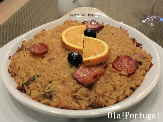 ポルトガル料理:Arroz de Pato アローシュ・デ・パト(鴨ごはん)