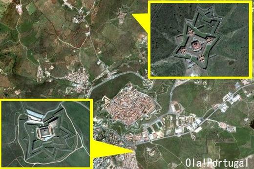 グラサ要塞とサンタ・ルジア要塞(エルヴァス)