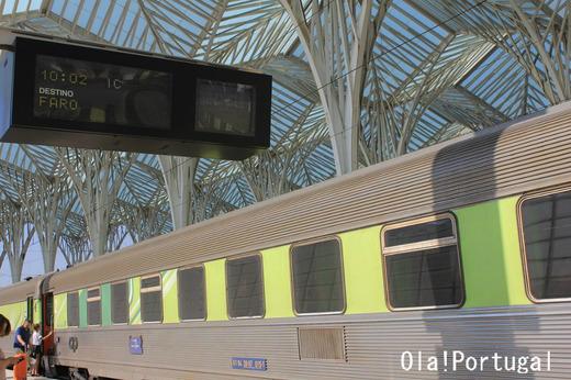 ポルトガル旅行記:アルガルヴェ(リスボン・オリエンテ駅)