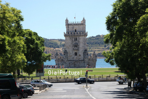 リスボン旅行記:ベレン地区(ベレンの塔)