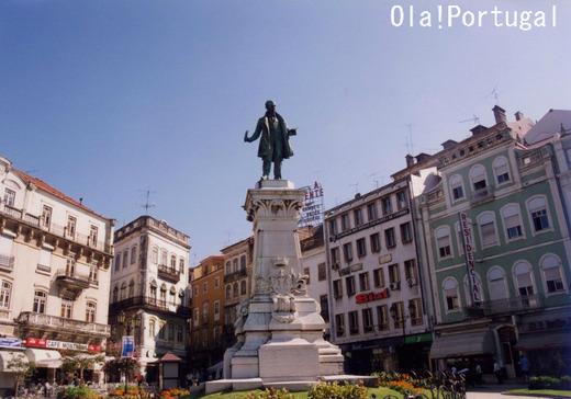 ポルトガル旅行記:コインブラ(ポルタジェン広場)