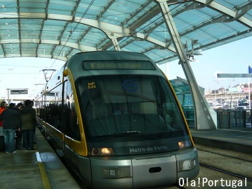 ポルトの路面電車:Metro de Porto メトロ・ド・ポルト