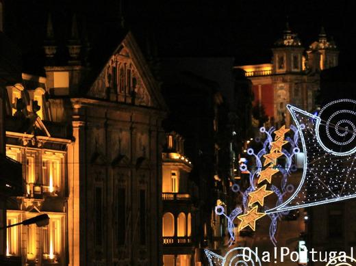 ポルトのクリスマス・イルミネーション