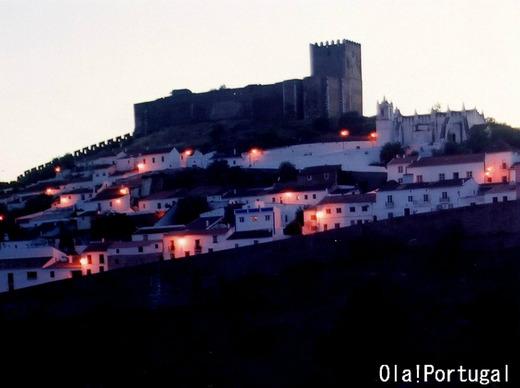 ポルトガルの城跡:Mertola メルトラ城(アレンテージョ地方)