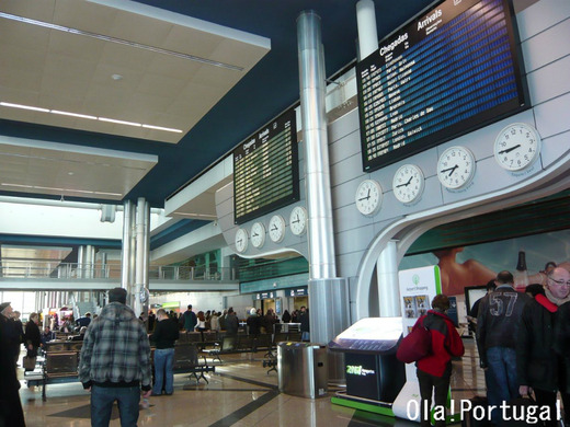 ポルト空港から市内への行き方