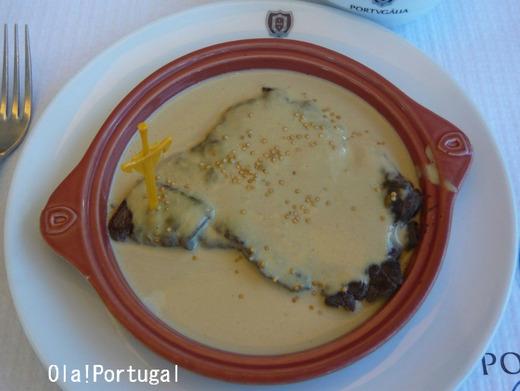 ポルトガル料理:Bife de Vaca ビーフ・デ・ヴァッカ(牛ステーキ)