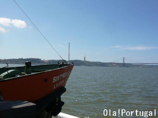 リスボン日帰り旅行:テージョ川対岸への船旅