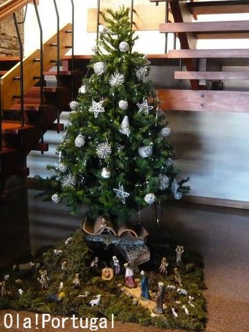 ポルトガルのクリスマスツリー