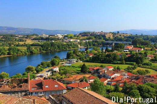 ポルトガルの星型城塞都市:ヴァレンサ・ド・ミーニョ