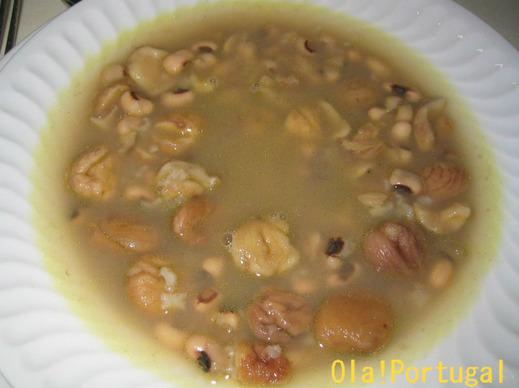 ポルトガル料理:Sopa de Castanha ソッパ・デ・カスターニャ