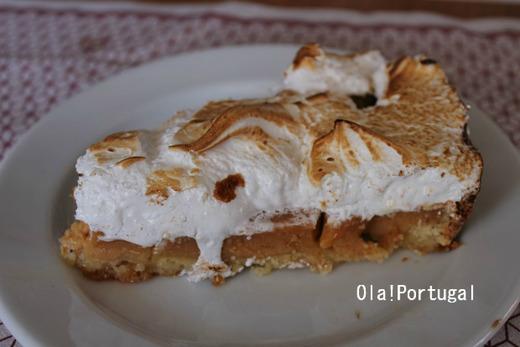 ポルトガルのデザート:レモンパイ