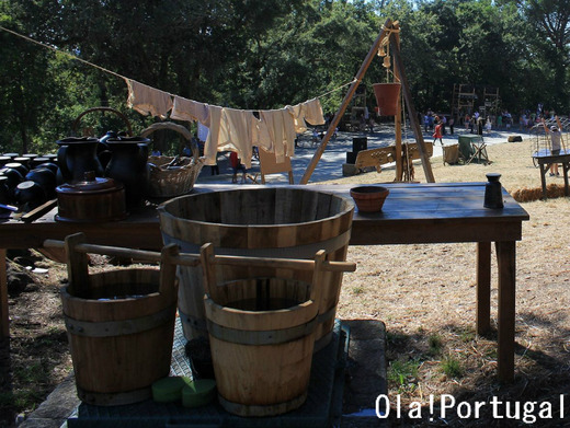 ポルトガル最大の中世祭り:サンタ・マリア・ダ・フェイラ