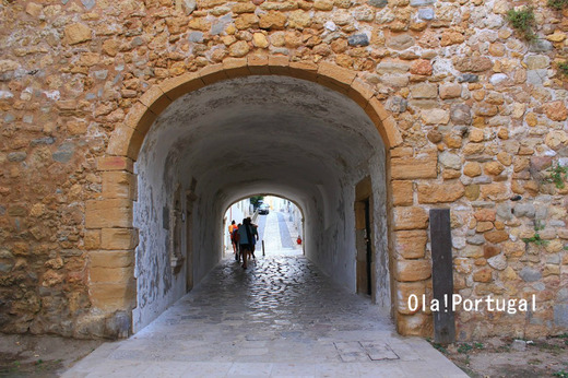 ポルトガル・アルガルヴェ地方のラゴス旧市街