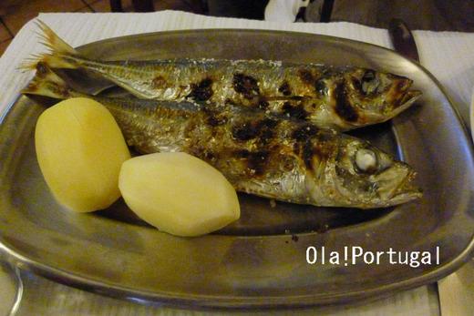 ポルトガル料理:Carapau カラパウ(アジ)