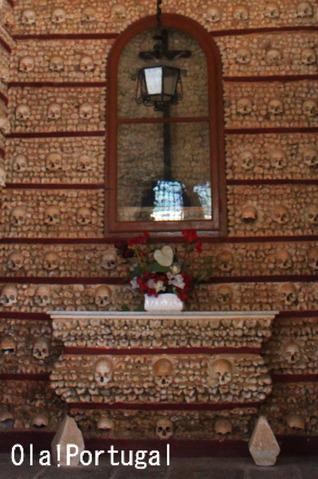 ポルトガル旅行記:ファーロのカペラ・ドス・オソス(人骨堂)