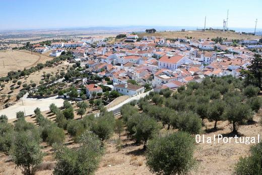 アライオロス城からの眺め:Ola! Portugal