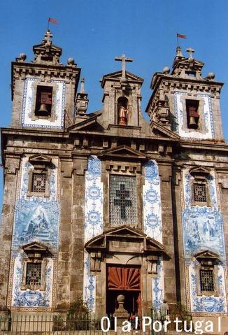 サント・インデフォンソ教会(ポルト)