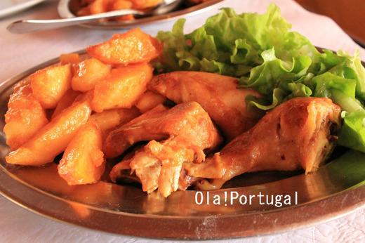 ポルトガル料理:Frango フランゴ(鶏)