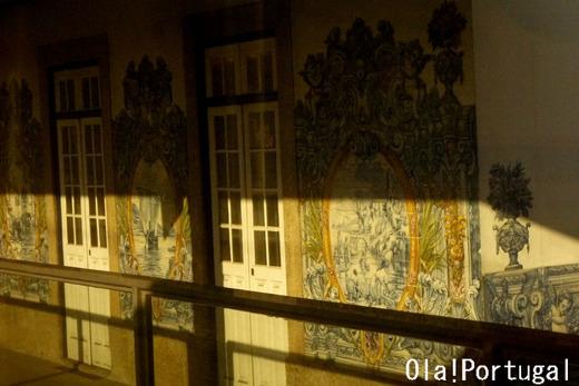 アズレージョの美しい駅:Rio Tinto リオ・ティント