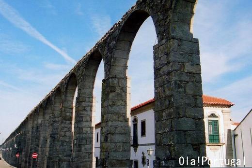 ポルトガルの水道橋:Vila do Conde ヴィラ・ド・コンデ