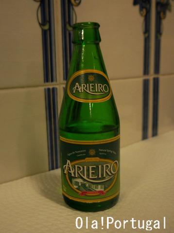 ポルトガル料理:Agua com gas アグア・コン・ガス(水)
