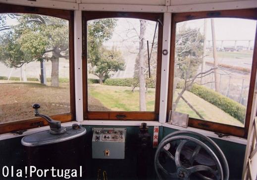 リスボン路面電車運転台