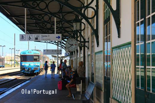 ポルトガルの車窓から:アルガルヴェ線(ファーロ~タヴィラ)
