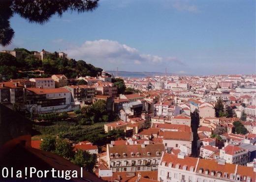 Miradouro da Graca, Lisboa, Portugal