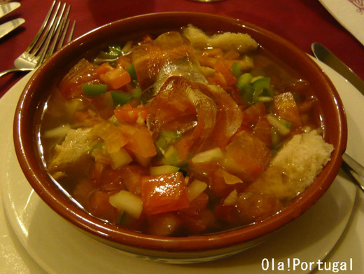 Gaspacho a Portuguesa ポルトガル風ガスパチョ