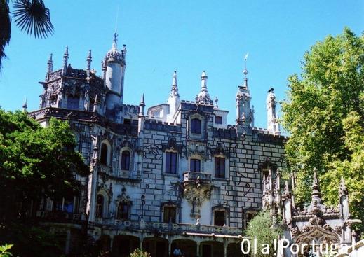 ドコモXi CMロケ地:ポルトガル(シントラ):レガレイラ宮殿
