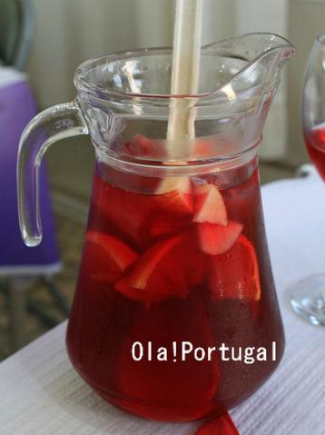 ポルトガルのお酒:Sangria サングリア