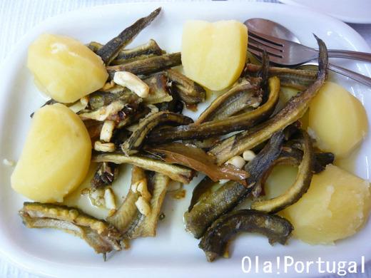 ぐるナイのゴチバトルに登場のポルトガル料理:アナゴ