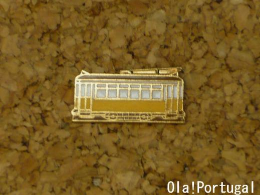 リスボン市電のお土産(ピン)