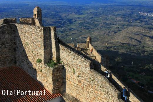 絶景!ポルトガル天空の城:マルバオン城