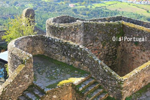 ポルトガル城跡巡りの旅:カステロ・デ・マルヴァオン